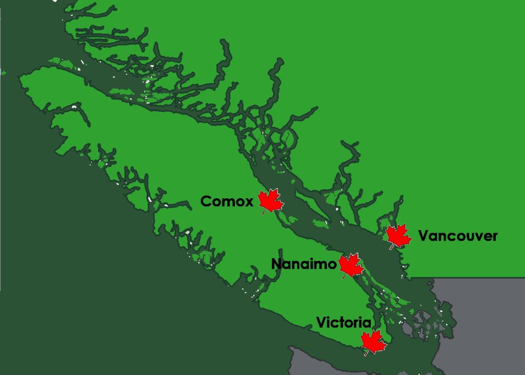 Canada map 02